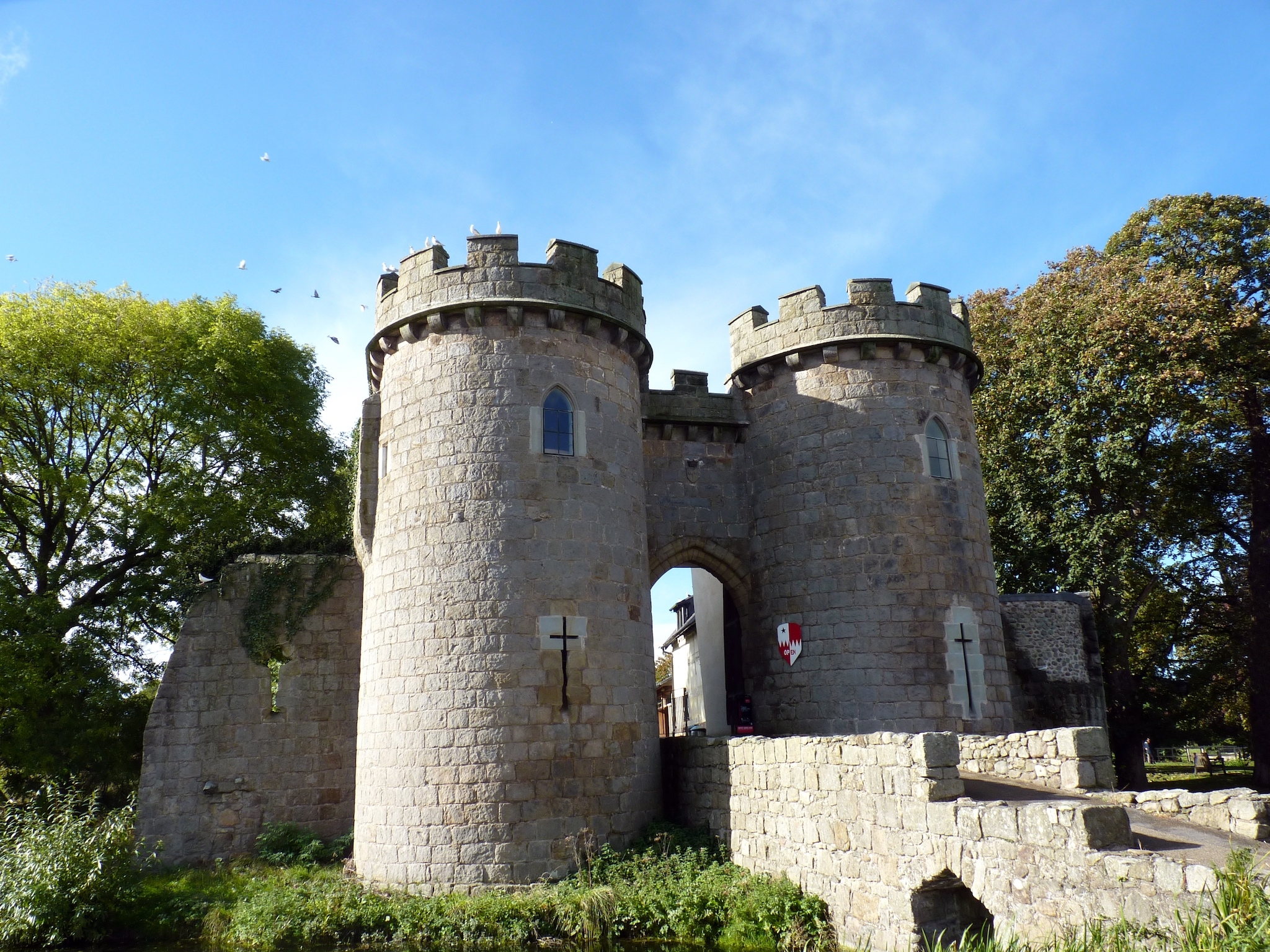 Whittington Castle